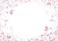 植物の囲み飾り 02463001385| 写真素材・ストックフォト・画像・イラスト素材|アマナイメージズ