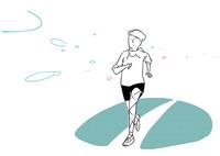 ジョギングをする男性 02463001652| 写真素材・ストックフォト・画像・イラスト素材|アマナイメージズ