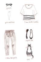 夏のファッションアイテム 02463001755| 写真素材・ストックフォト・画像・イラスト素材|アマナイメージズ