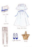夏のファッションアイテム 02463001759  写真素材・ストックフォト・画像・イラスト素材 アマナイメージズ