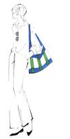 肩にバッグをかけて立つ女性 02463001761| 写真素材・ストックフォト・画像・イラスト素材|アマナイメージズ