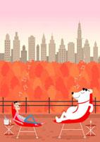 秋のニューヨーク