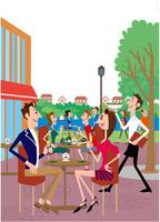 公園オープンカフェ