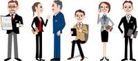 ビジネスマン、ビジネスウーマン 02464000108| 写真素材・ストックフォト・画像・イラスト素材|アマナイメージズ