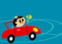 ドライブで道に迷った男性 02468000026| 写真素材・ストックフォト・画像・イラスト素材|アマナイメージズ