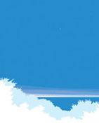 星空と白く映る森から覗く海 02474000004| 写真素材・ストックフォト・画像・イラスト素材|アマナイメージズ