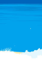 高台から見下ろした海岸線と広い海を飛ぶ鳥 02474000008| 写真素材・ストックフォト・画像・イラスト素材|アマナイメージズ