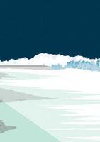 台風による高波が押し寄せる夜の海岸 02474000009| 写真素材・ストックフォト・画像・イラスト素材|アマナイメージズ