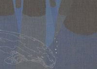 水中から飛び出したと泳ぐジュゴン 02474000053| 写真素材・ストックフォト・画像・イラスト素材|アマナイメージズ
