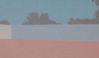 囲まれた壁の向こうに森の見える広場 02474000064| 写真素材・ストックフォト・画像・イラスト素材|アマナイメージズ