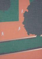 大きな樹木の生える道路を歩く人々 02474000065| 写真素材・ストックフォト・画像・イラスト素材|アマナイメージズ