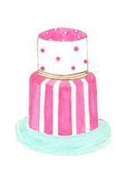 ベリーのウエディングケーキ