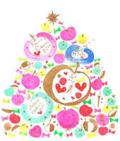 メッセージクリスマスツリー 今を生きる