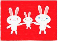 ウサギの家族 02480000003| 写真素材・ストックフォト・画像・イラスト素材|アマナイメージズ