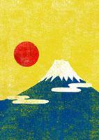 富士山の初日の出 02480000046  写真素材・ストックフォト・画像・イラスト素材 アマナイメージズ