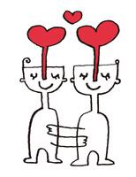 愛する2人