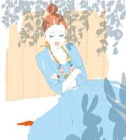 眠っている女性 02485000001| 写真素材・ストックフォト・画像・イラスト素材|アマナイメージズ