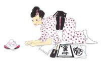 お菓子を食べる女性 02485000003| 写真素材・ストックフォト・画像・イラスト素材|アマナイメージズ