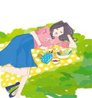 眠っている女性 02485000004| 写真素材・ストックフォト・画像・イラスト素材|アマナイメージズ