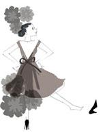 ダンスを踊る女性 02485000023| 写真素材・ストックフォト・画像・イラスト素材|アマナイメージズ