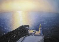 水彩画 地球岬 02488000015| 写真素材・ストックフォト・画像・イラスト素材|アマナイメージズ