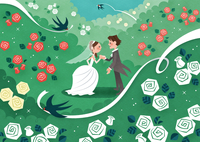 ローズガーデンの結婚式