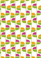 植物をイメージしたパターン