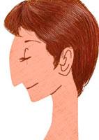 女性 横顔