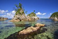 浦富海岸 02510001219| 写真素材・ストックフォト・画像・イラスト素材|アマナイメージズ