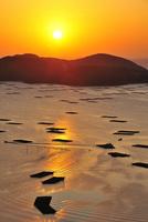 虫明から望む瀬戸内海の朝日(虫明迫門の曙)