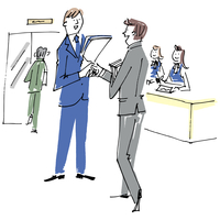 握手するビジネスマン 02514000236  写真素材・ストックフォト・画像・イラスト素材 アマナイメージズ