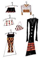 コートやスカート 02515000011| 写真素材・ストックフォト・画像・イラスト素材|アマナイメージズ