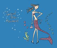 マーメイドイメージの女性 02515000014| 写真素材・ストックフォト・画像・イラスト素材|アマナイメージズ