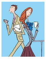 男女 ビジネスイメージ 02515000027| 写真素材・ストックフォト・画像・イラスト素材|アマナイメージズ