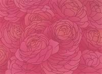 薔薇の花のパターン