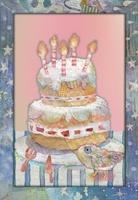 ケーキと鳥