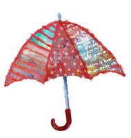 クリスマスデコレーション傘