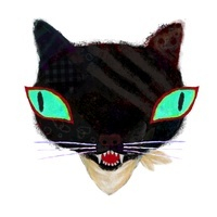 黒猫 02531000052| 写真素材・ストックフォト・画像・イラスト素材|アマナイメージズ