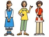 3人の女性 02551000014| 写真素材・ストックフォト・画像・イラスト素材|アマナイメージズ