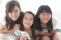 3人の女の子のポートレート
