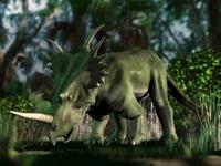 森のスティラコサウルス