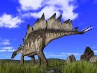 草原のステゴサウルス