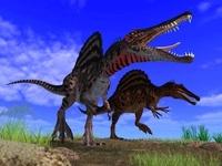 荒れ地のスピノサウルス