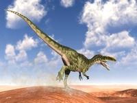 荒野のモノロフォサウルス