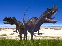 草原のケラトサウルス