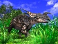 草むらのエイニオサウルス