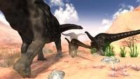 荒野のアパトサウルス