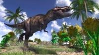 常夏のティラノサウルス