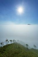 雲海と摩周岳