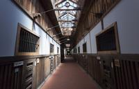 博物館網走監獄の五翼放射状舎房